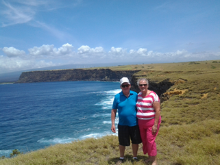 Mom and Dad in Hawaii